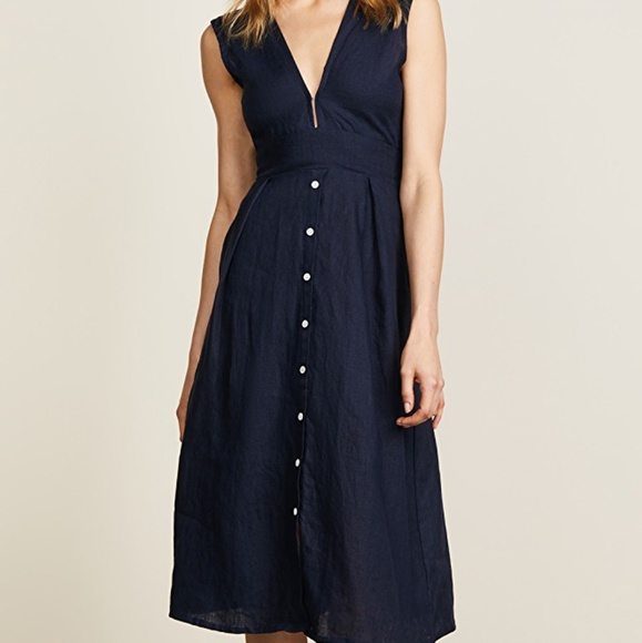 315ba55e947 Faithfull The Brand Le Roch Midi Dress